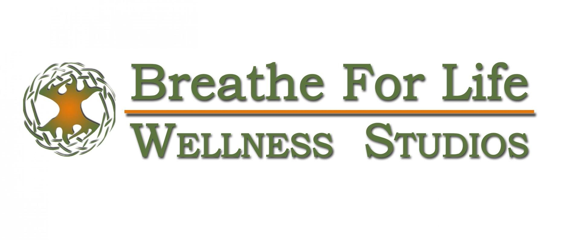 Breathe for Life Wellness Studio Logo
