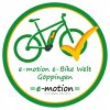 e-motion e-Bike Welt Göppingen Logo