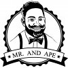 Mr. and Ape Logo