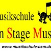 Musikschule on Stage Music Logo