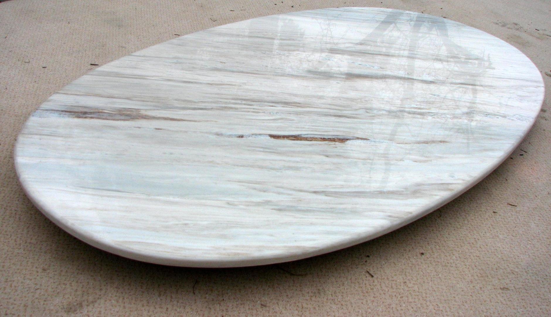 Bild ovale marmorplatte f r couchtisch for Couchtisch marmorplatte