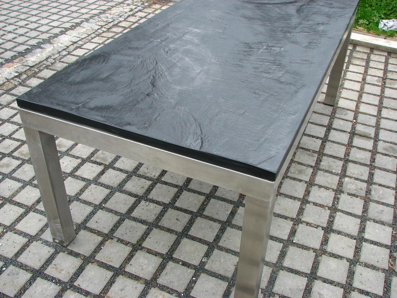 Schiefer Granit 88 wohnzimmer tisch schiefer wohnzimmertisch ausziehbar mit schieferplatte in eiche