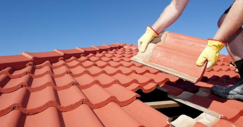 Dach und Dachdecker