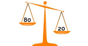 Das Paretoprinzip: 80/20 statt 08/15 für professionelles Zeitmanagement