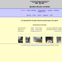 spedition nicolas von wedel in darmstadt. Black Bedroom Furniture Sets. Home Design Ideas