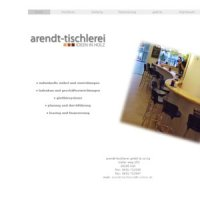 arendt tischlerei gmbh co kg in kiel auf marktplatz. Black Bedroom Furniture Sets. Home Design Ideas