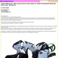 motorradlackierungen altkr ger in buersche str gladbeck. Black Bedroom Furniture Sets. Home Design Ideas